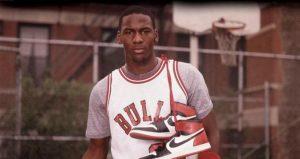 Michael Jordan per Nike